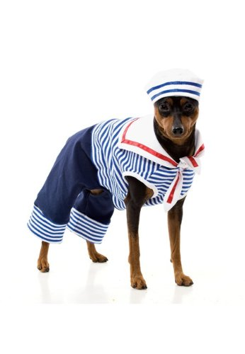 Sailor Dog Costume - Pet Costume
