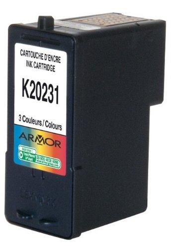 Patrone für Lexmark X 2300 Color, 10ml, Armor Druckerpatrone kompatibel für X2300