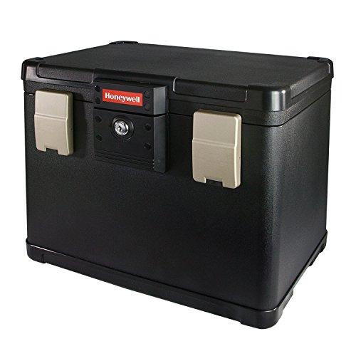 Feuerfeste-Wasserdichte-Dokumentenkassette-inkl-6-Hngeregister-Hngemappen-Passend-fr-DIN-A4-Bltter