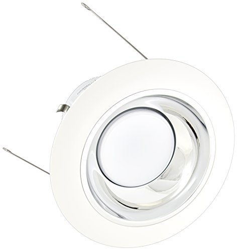 American Lighting X5-Csm-Wh-X56 5-Inch Downlight Trim Kit For X56 Series, Clear Silver Multiplier, White Trim