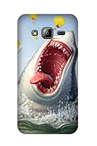 ZAPCASE PRINTED BACK COVER FOR SAMSUNG J3 - Multicolor