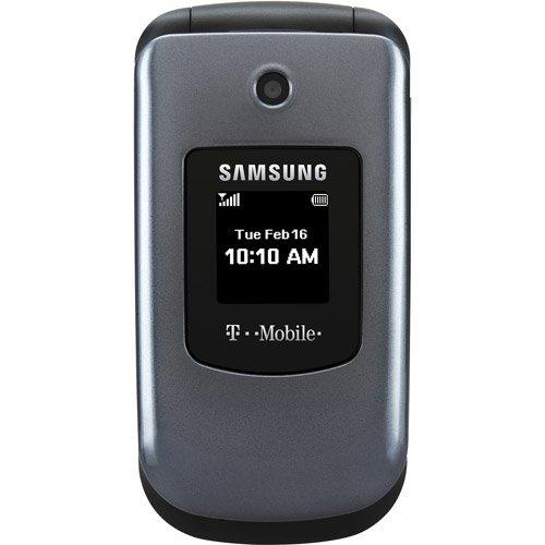T-Mobile Prepaid Samsung T139 Flip Phone With Blu