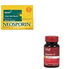 buy Kitpfi512373700Sfs10306 - Value Kit - Reckitt Benckiser Vitamin C 500 Mg With Rose Hips Tablet (Sfs10306) And Neosporin Antibiotic Ointment (Pfi512373700)
