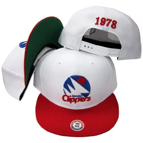 Amazon.com: San Diego Clippers White/Red Two Tone Plastic