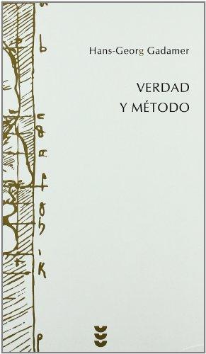 Verdad Y Metodo I/ Truth And Method I (Spanish Edition)