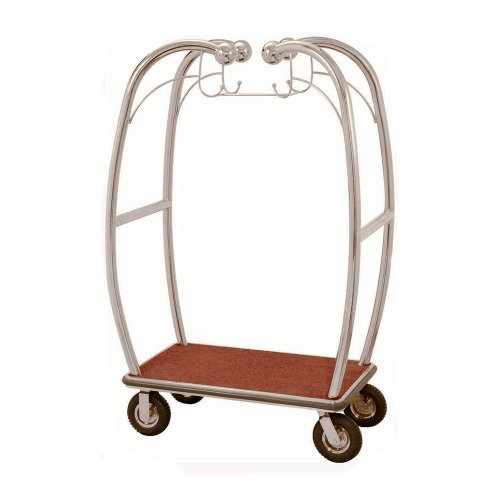 aarco-stainless-steel-chrome-finish-luggage-cart-with-hooks-47-x-25-x-73