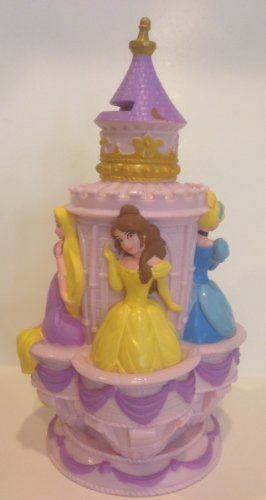 Disney Parks Princess Plastic Vinyl Bank NEW