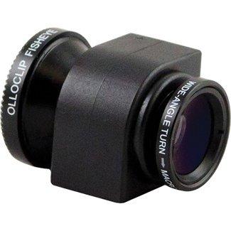 olloclip iPhone 5用拡張レンズ 魚眼、マクロ、ワイドの3つの機能を備えたレンズ ブラック OLO-LENS-IP5-BLK2
