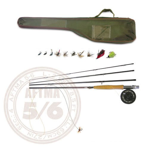 Fly Fishing rod-reel combo