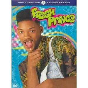 "The TV series, ""The Fresh Prince of Bel-Air"", stars Will Smith. (Season 2 of 6)."