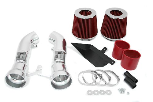 09 10 11 12 Nissan 370Z Heat Shield Intake Red (Included Air Filter) #Hi-NS-1R (Nissan 350z Nismo Intake compare prices)