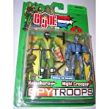 Gi Joe 2003 spy troops KAMAKURA vs COBRA NIGHT CREEPER g.i. [Toy]