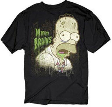 Homer Simpson Zombie T-shirt