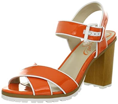 Vogue Women's Lifeboat Sandal,Orange,6 M US