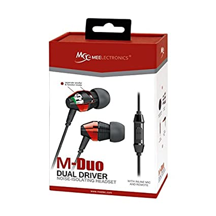 MEElectronics M-Duo In Ear Headset