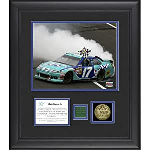 NASCAR Matt Kenseth 2012 Hollywood Casino 400 Framed Photo by Mounted Memories