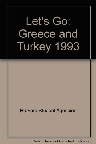 Let's Go: Greece and Turkey 1993, Harvard Student Agencies
