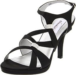 Dyeables Women s Claire Leather Platform Sandal B005WQOXL4
