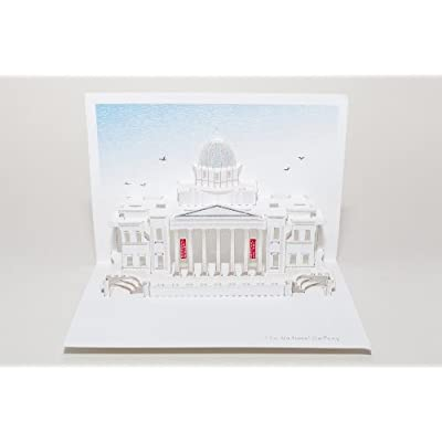 National Gallery Pop Up Card
