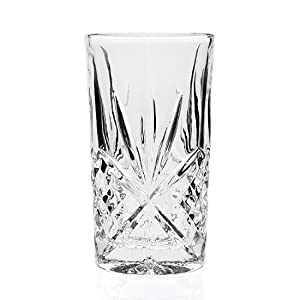 Godinger Dublin Crystal Set of 12 High Balls
