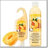 Avon Naturals Set of 2 Nourishing Indulgence Shower Gel and Body Lotion in Apricot and Shea