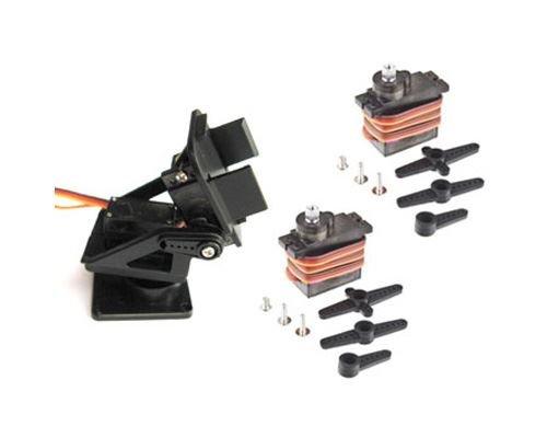 Piattaforma di Supporto per Telecamera PT Pan/Tilt per FPV + 2x servocomando MG90