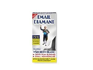 email diamant 4006 dentifrice blancheur le secret du blanc tube 50 ml lot de 2 amazon. Black Bedroom Furniture Sets. Home Design Ideas