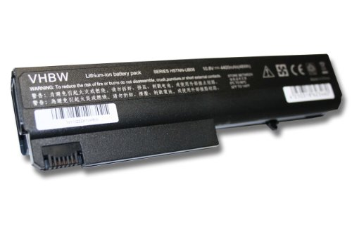 AKKU LI-ION 4400mAh 10.8V schwarz black f&#252;r HP ersetzt 360483-001, 360483-003, 360483-004, 364602-001, 365750-001, 367457-001, 372772-001 etc.