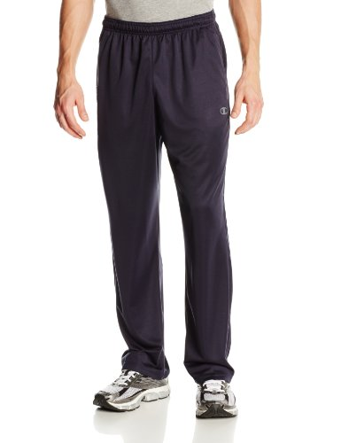 Champion Men's Powertrain Knit Training Pant, Navy, Medium (Champion Navy Pants compare prices)