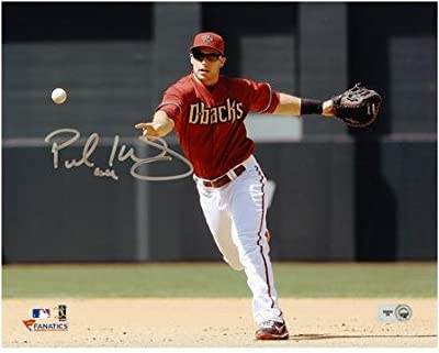 "Paul Goldschmidt Arizona Diamondbacks Autographed 8"" x 10"" Fielding Photograph - Fanatics Authentic Certified"