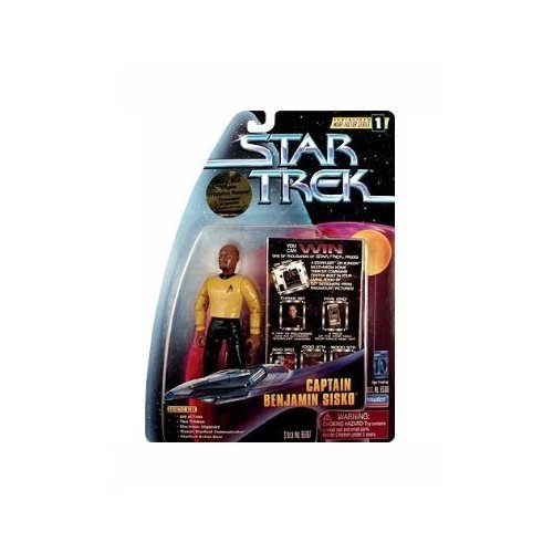 Star Trek Deep Space Nine: Warp Factor Series 1 Captain Benjamin Sisko 4 inch Action Figure
