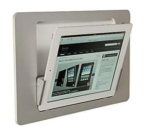 idock Quer weiss 230V Blende ALU weiss Lightning (iPad 4)