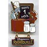 DLP Ratatouille Attraction Countdown - 1 Months Pin Le 1000