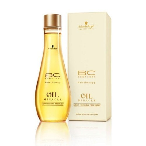 Schwarzkopf 16059600744 BC Oil Miracle Light Finishing Treatment - For Fine to Normal Hair Types - 100ml-3.4oz (Miracle Hair Oil compare prices)
