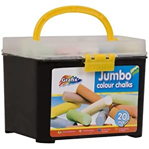 Set of 20 Jumbo Sticks of Chalk