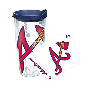 Atlata Braves Tervis Tumbler Colossal Wrap 24 oz. Cup with Lid by Tervis Tumbler Co.
