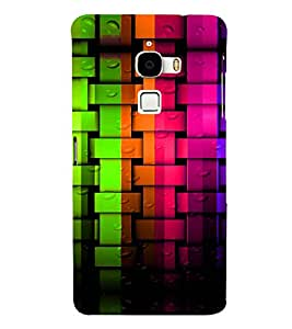 PRINTVISA Abstract Colourful Pattern Case Cover for LeTv LeMax