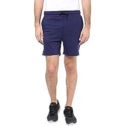Ajile by Pantaloons Mens Regular Fit Shorts Indigo M