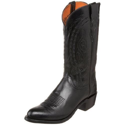 1883 by Lucchese Men's N1617.R4 Western Boot,Black,11 D US