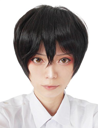 Nouqi® Anime Short Synthetic Hairs General Cosplay Wigs