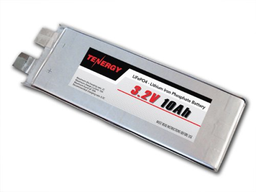 3.2V 10Ah Lifepo4 (Lithium Iron Phosphate) Rechargeable Battery