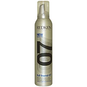 Full Frame 07 Protective Volumizing Mousse Unisex Mousse by Redken, 8.5 Ounce