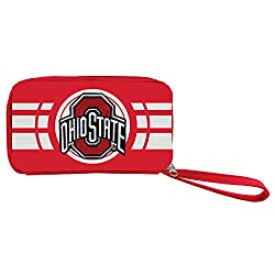 NCAA Ohio State Buckeyes Ripple Zip Wallet