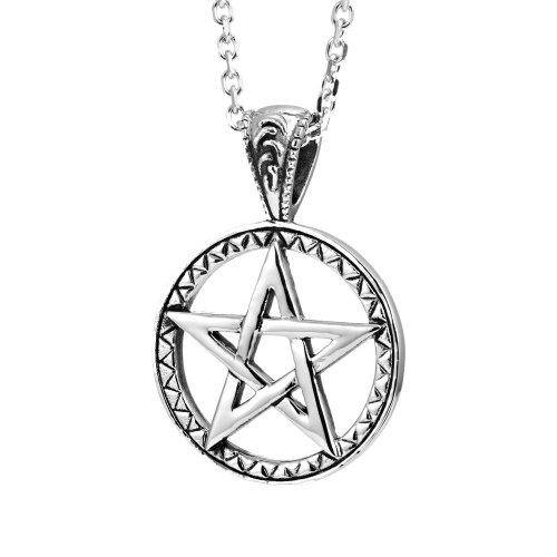 Powerful Pentacle Necklaces Pentagram, Seal of Solomon Pendant (with Branded Gift Box) (Seal Necklace compare prices)