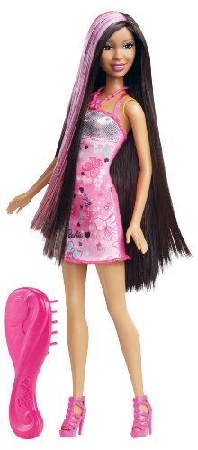 Barbie Hairtastic Long Hair Nikki Doll - 1