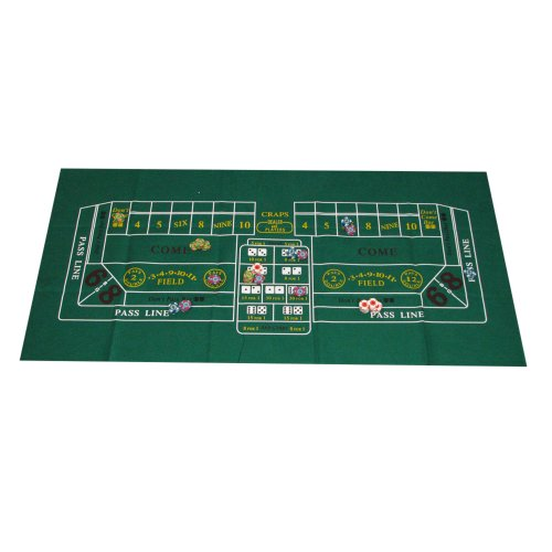 For Sale! Trademark Poker Casino Craps Layout, 24x48-Inch