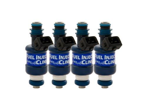 FIC IS126-1250 1250cc Mitsubishi DSM EVO 8/9 BlueMax Fuel Injector Clinic Set LZ