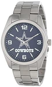 Game Time Unisex NFL-ELI-DAL Elite Dallas Cowboys 3-Hand Analog Watch by Game Time