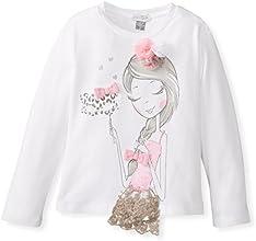 Petit Lem Little Girls39 Miss Masquerade Long Sleeve Knit Top