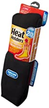 Heat Holders Ladies Extra Long Heat Holders Black US Shoe